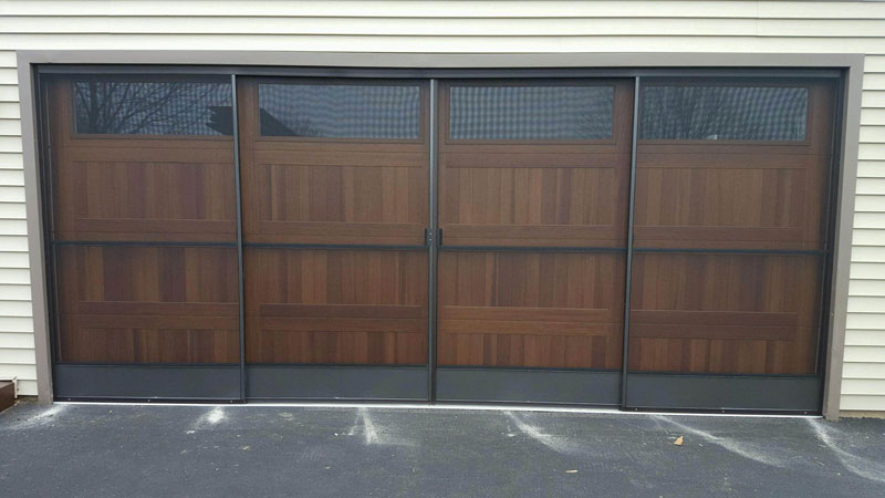Garage Door Screens | Tracey Door on garage inside a hill, garage on a slope, garage east hills china,